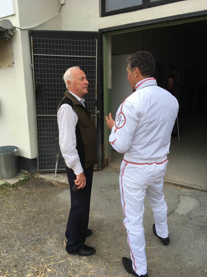 Avant le succès de Drôle de Jet dans l'UET 2017, Pierre Vercruysse s'entretient avec Berndt Linsteadt la légende suédoise