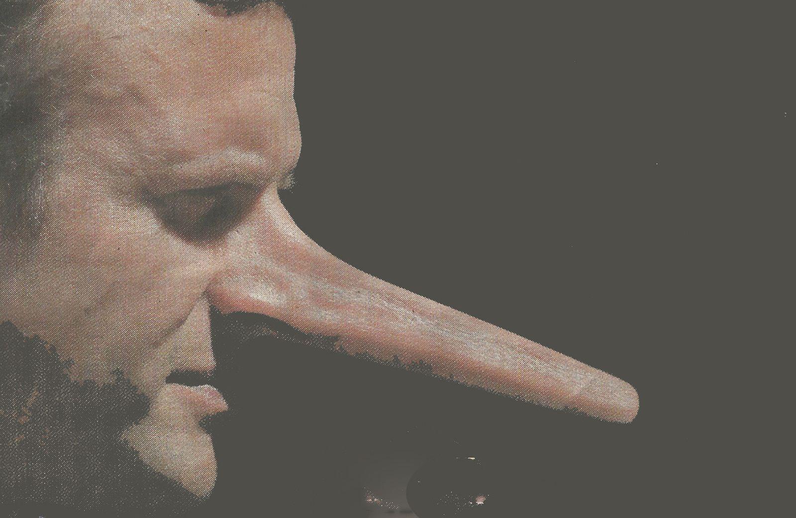 Si son nez pouvait s'allonger à chaque mensonge