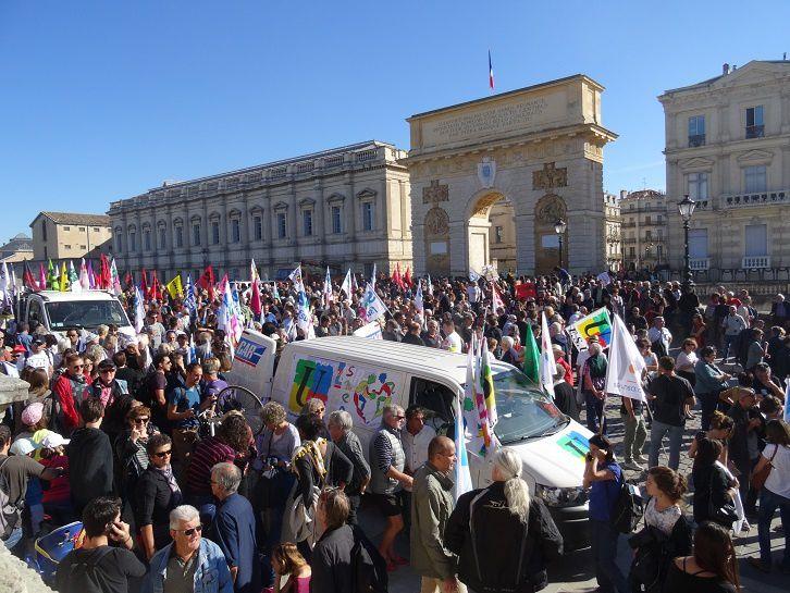 une foule considérable, une grande unité