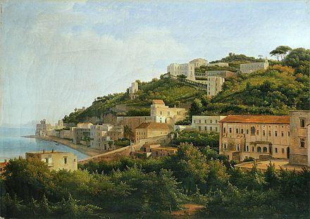 Baie de Naples - Pausilippe AH Dunouy