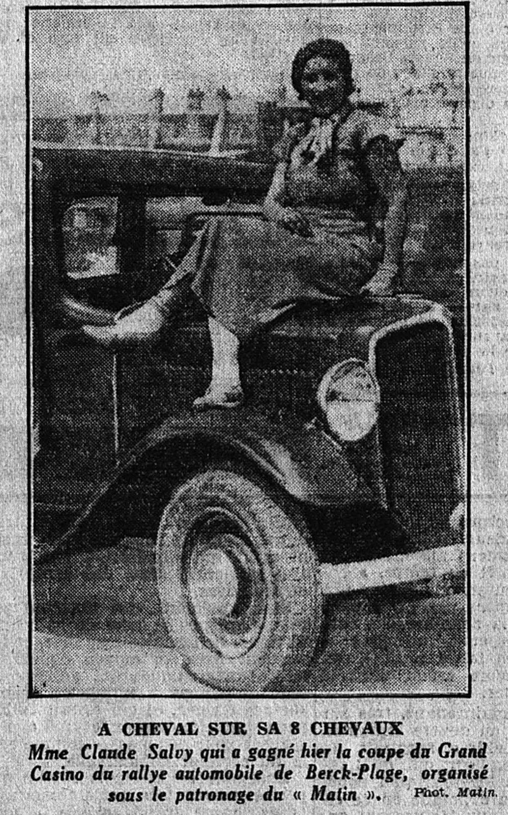 Le matin du 24/7/1933 (collection BNF Gallica)