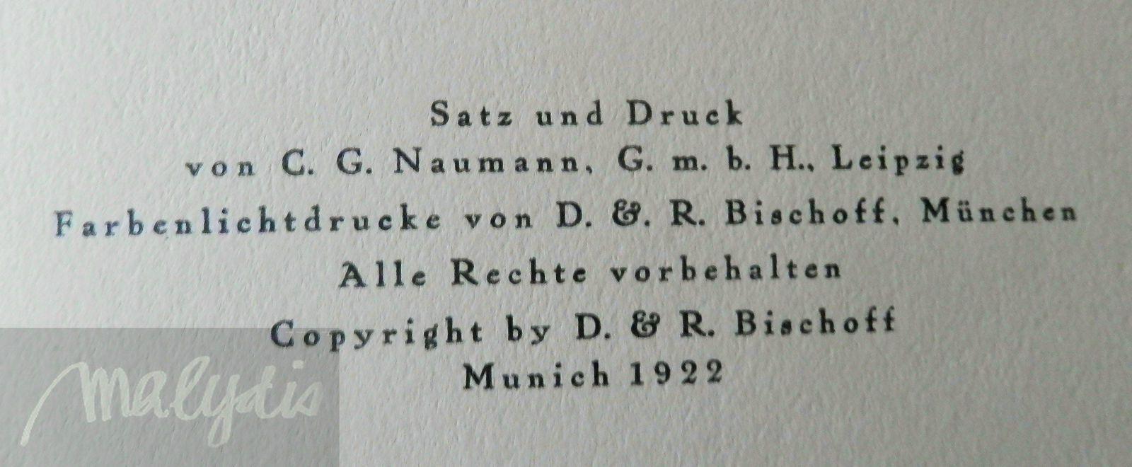Münich 1922