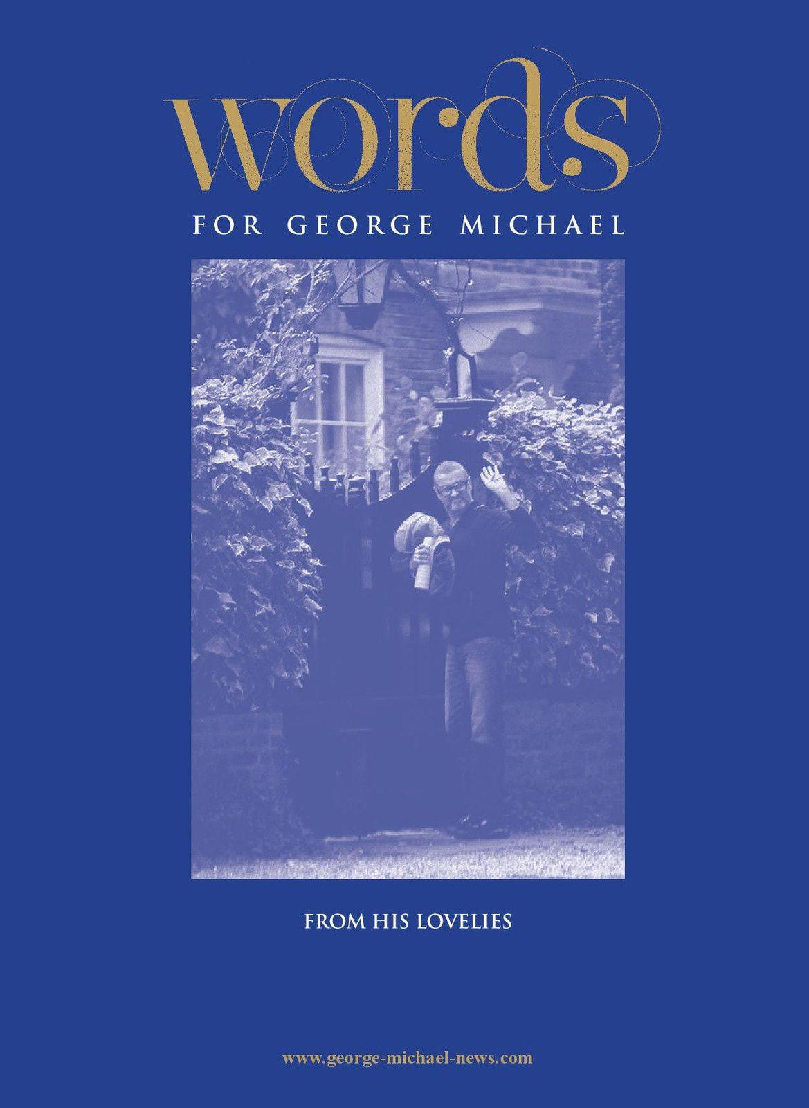LE LIVRE D'OR DEDIE A GEORGE MICHAEL