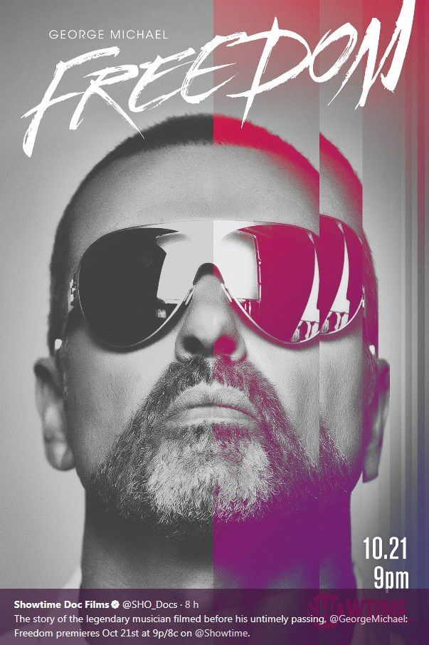 GEORGE MICHAEL : FREEDOM LE DOCUMENTAIRE * LES DATES DE DIFFUSION *