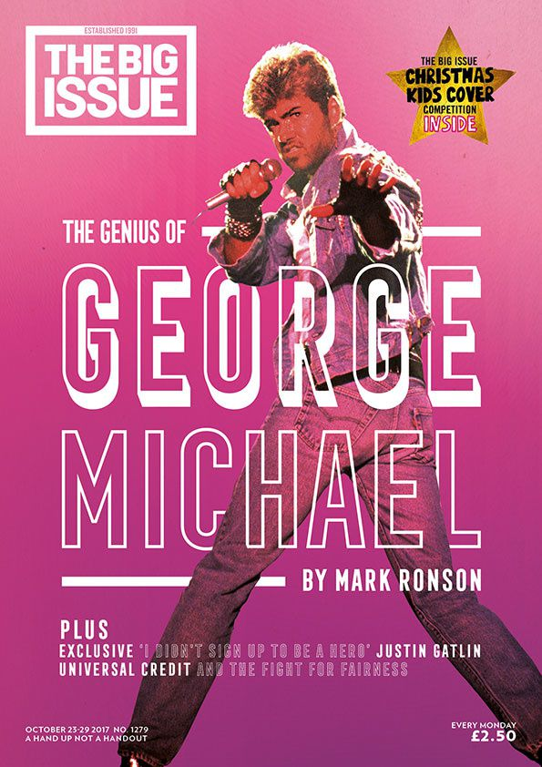 GEORGE MICHAEL L'IDOLE DE MARK RONSON