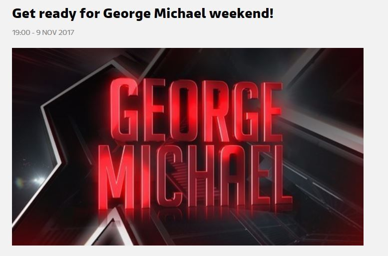 WEEK END SPECIAL GEORGE MICHAEL POUR XFACTOR UK