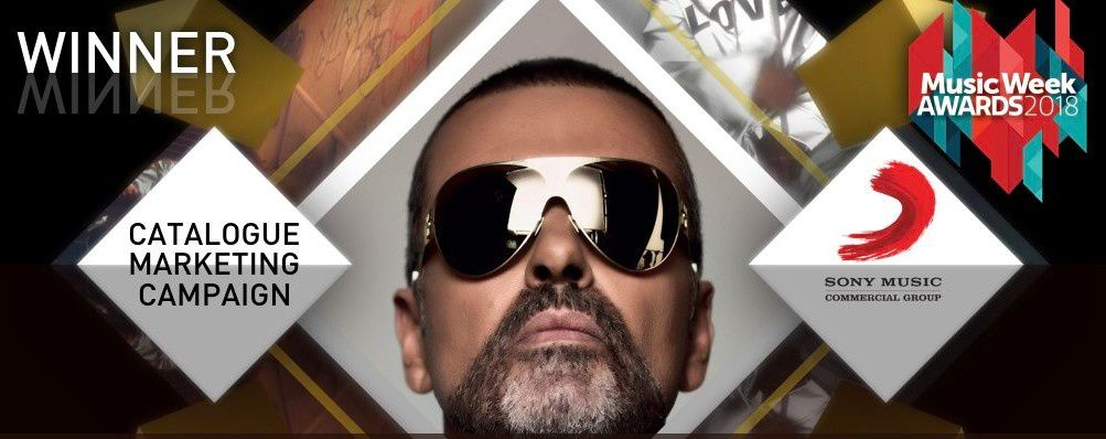 UN MUSIC WEEK AWARD POUR LA TEAM DE GEORGE MICHAEL !