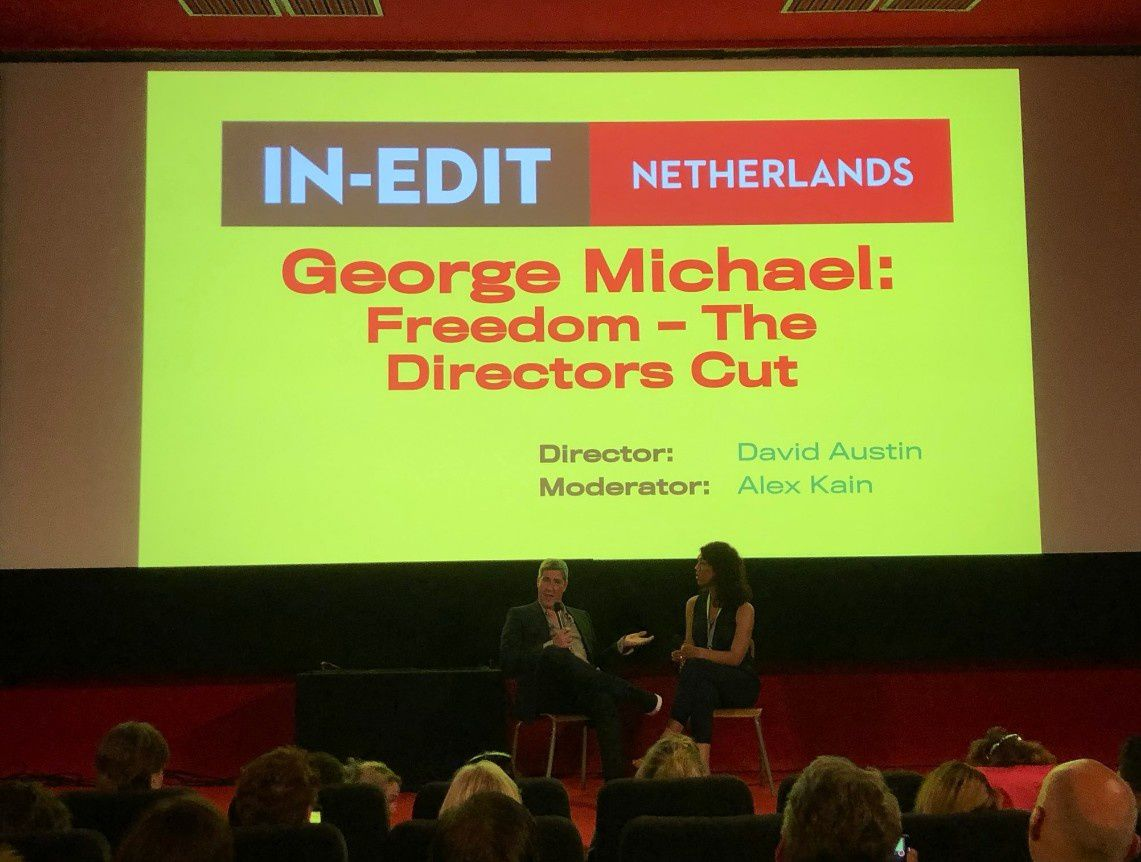 GEORGE MICHAEL : FREEDOM THE DIRECTOR'S CUT * 1ERE PROJECTION EUROPEENNE *