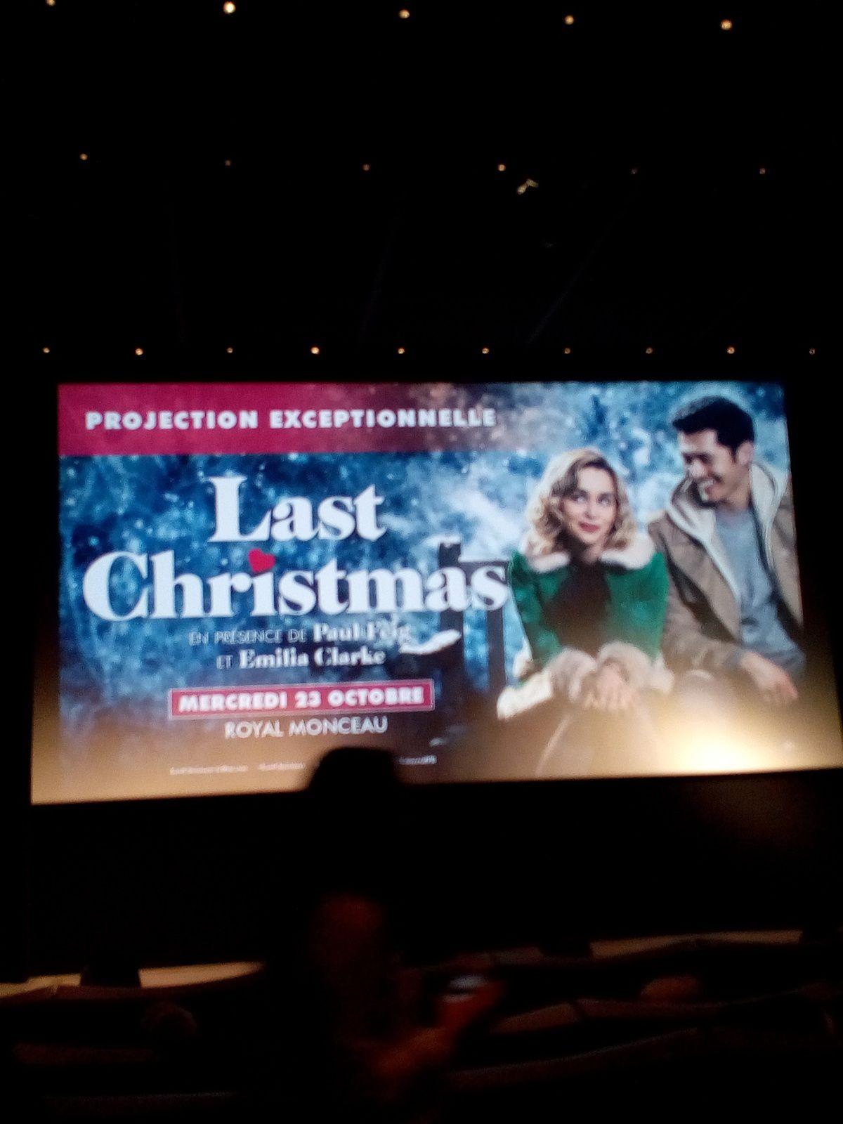 HELENE A LA PREMIERE FRANCAISE DE LAST CHRISTMAS LE FILM !