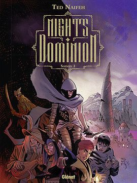 Night's Dominion saison 1 ou le club des 5, version comics