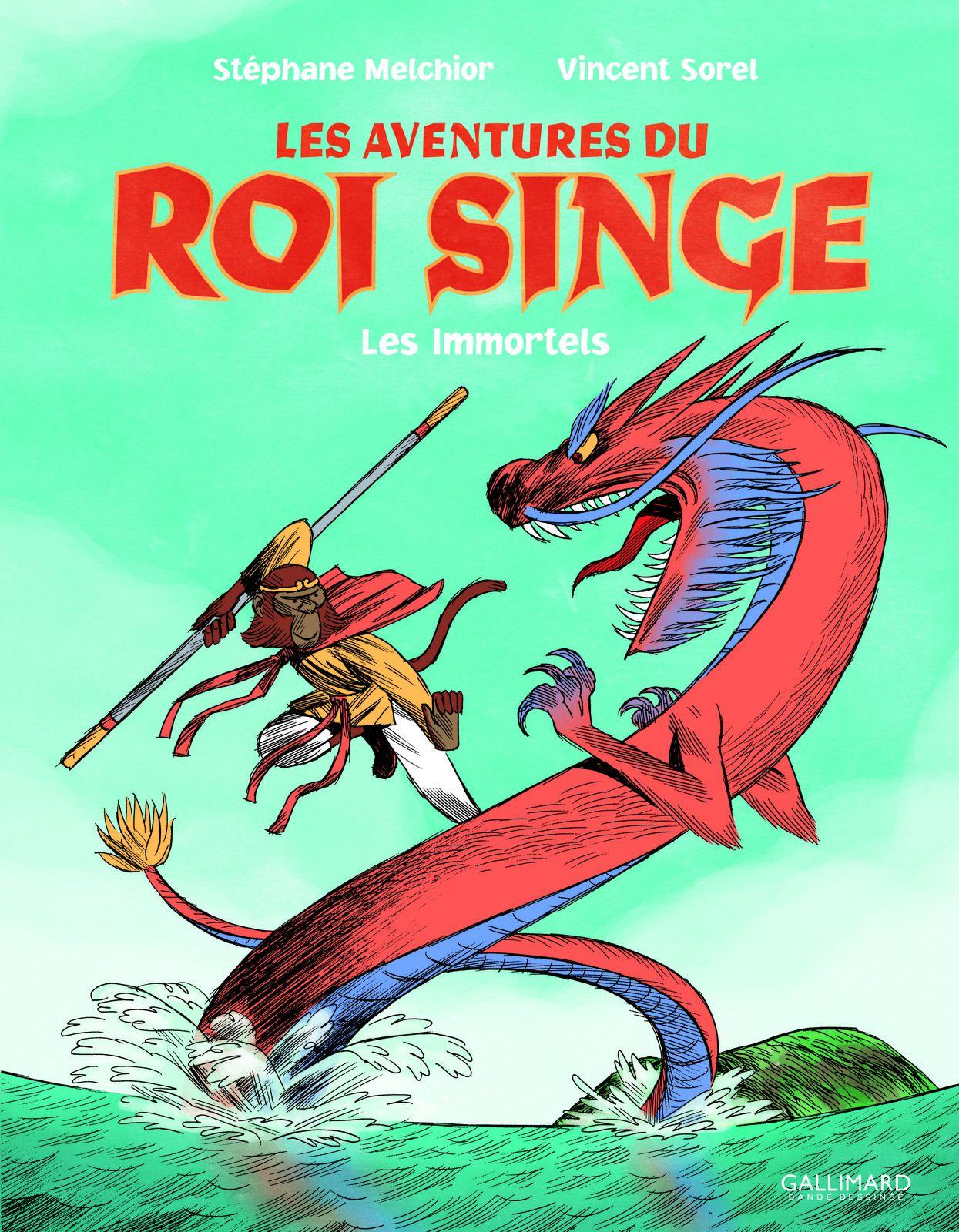 LES AVENTURES DU ROI SINGE T1, à l'ère de la mythologie chinoise