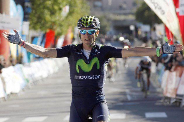 Alejandro Valverde, leader de la Volta a Catalunya, vainqueur de la 2ème étape