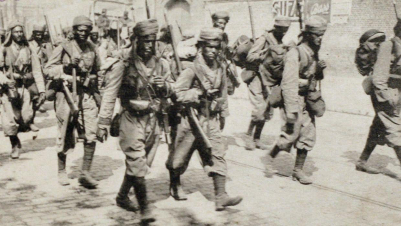 Soldats musulmans Première guerre mondiale