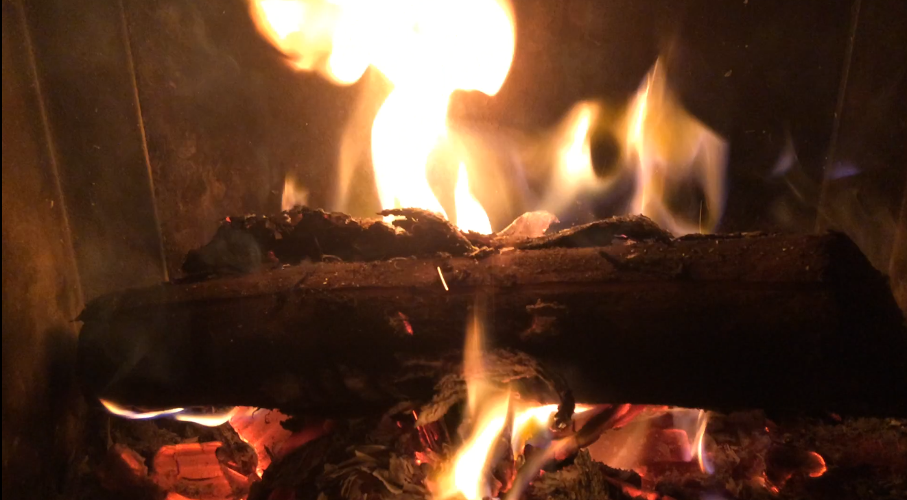 Rêverie devant le feu avec Bachelard