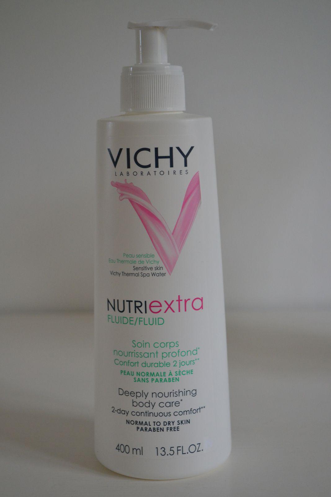 ... le fluide corps Nutriextra de Vichy