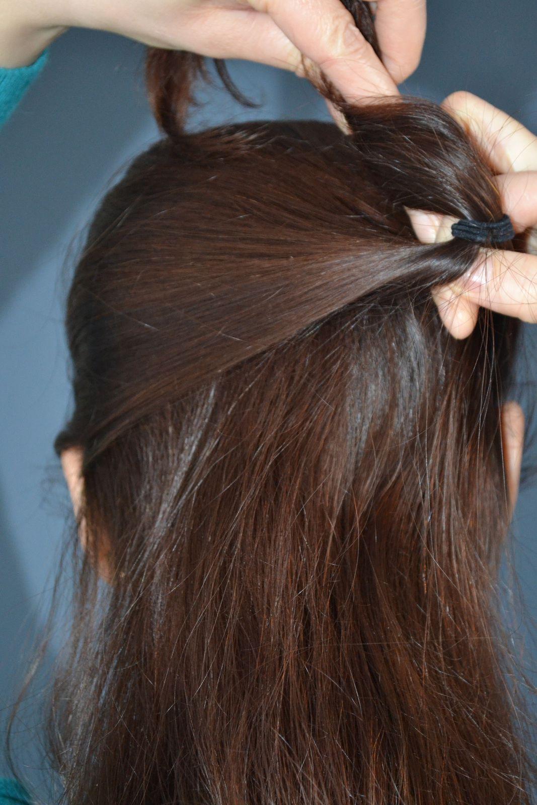 ... les 'tites coiffures rapides