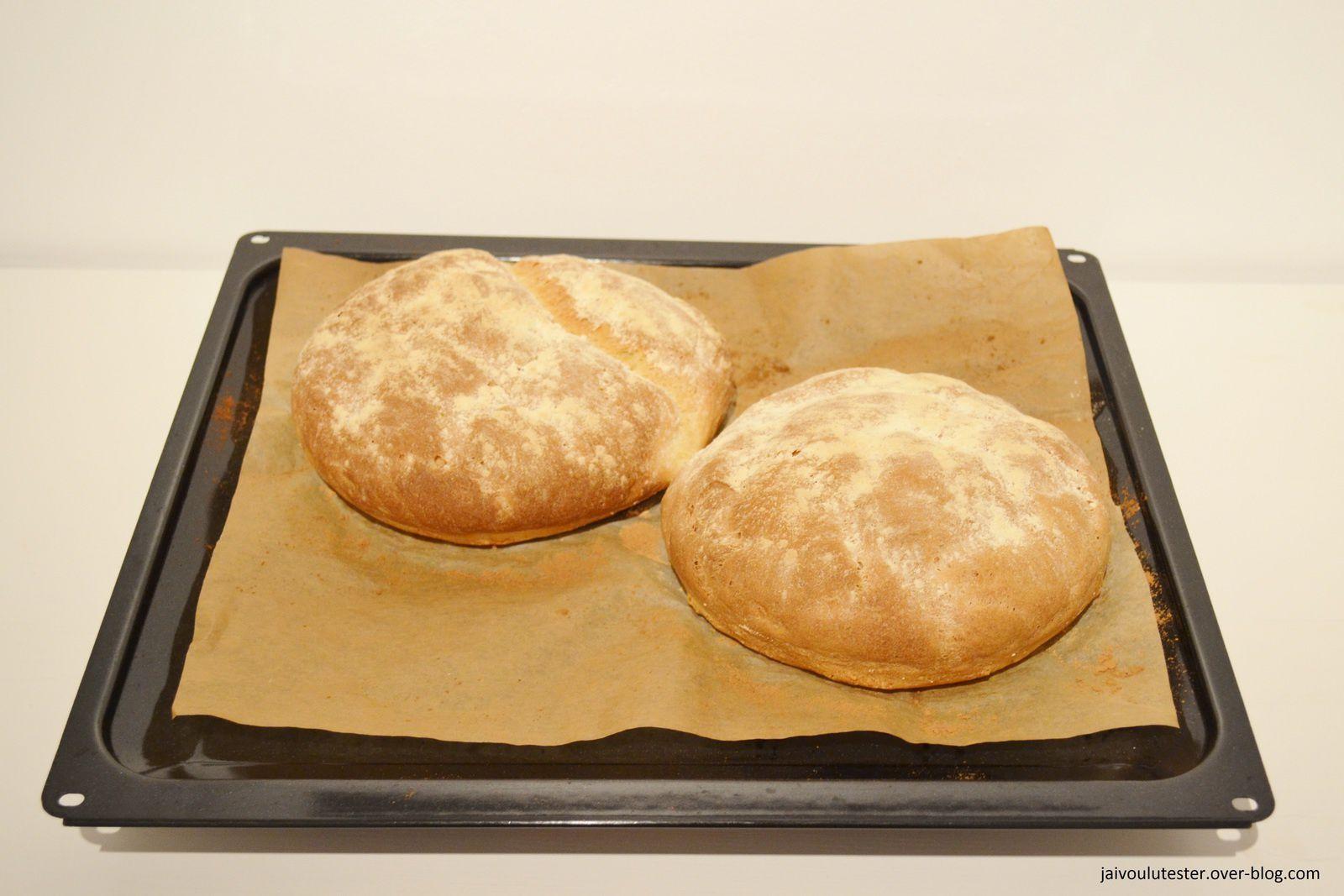 ... ma première recette de pain fait maison (facile et sans machine)