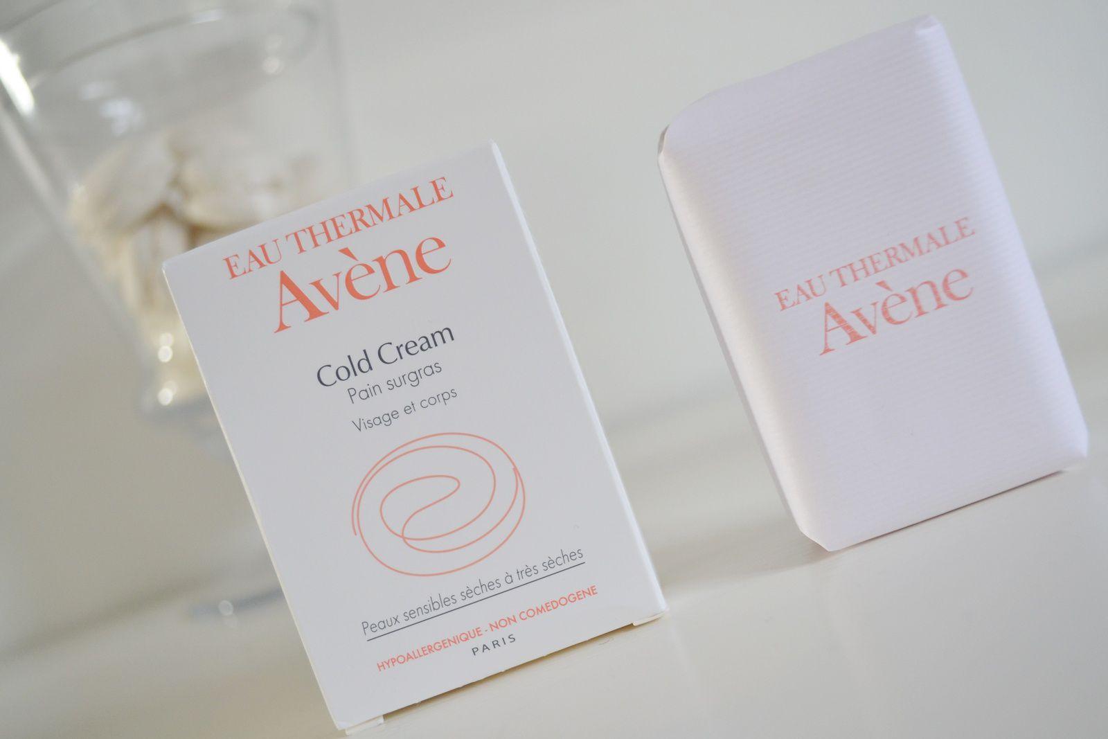 ... les produits Avène, chouchoutage simple et efficace