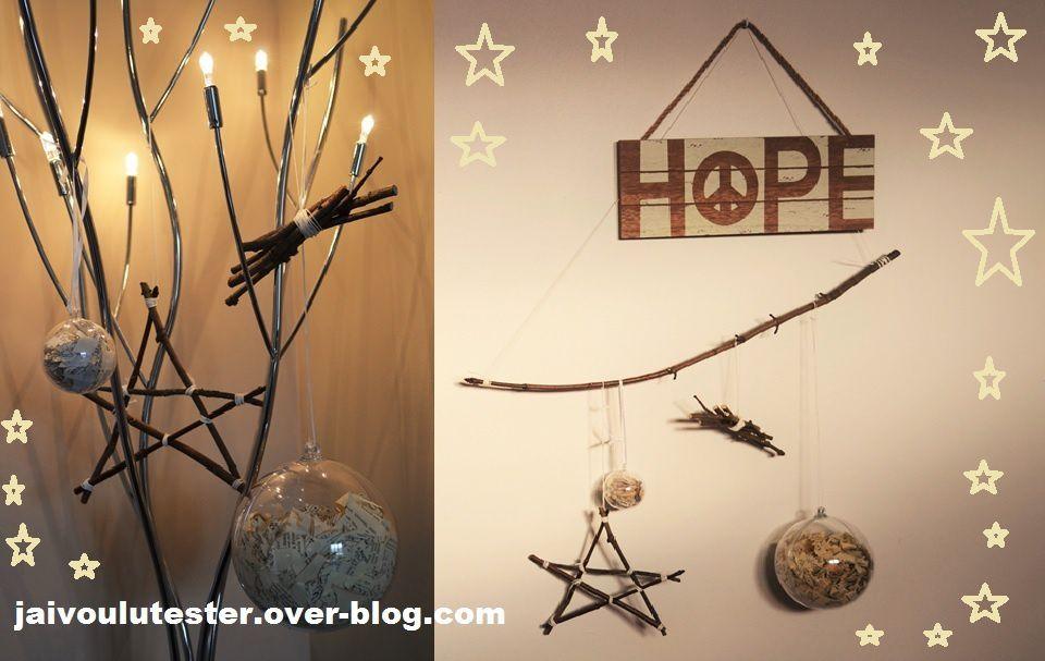 ... le DIY spécial Noël (#2): les suspensions faciles réaliser