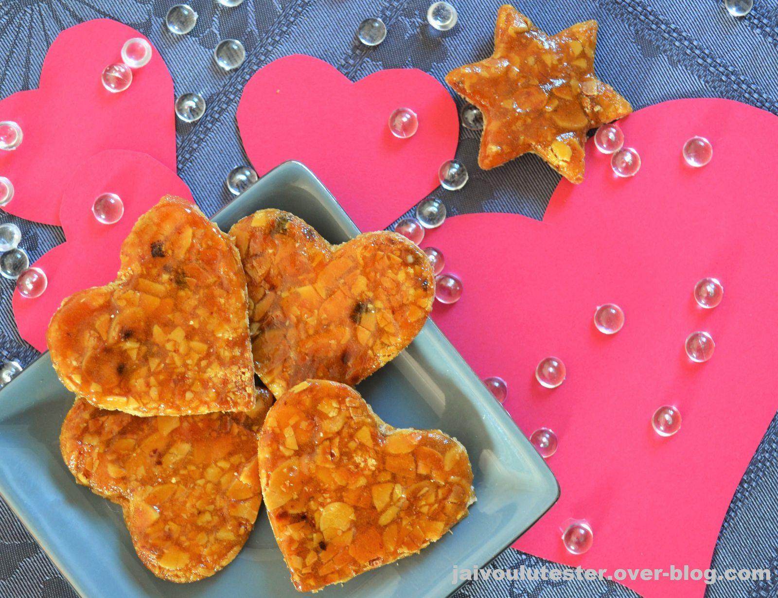 ... le coeur nougatine, spécial Saint Valentin