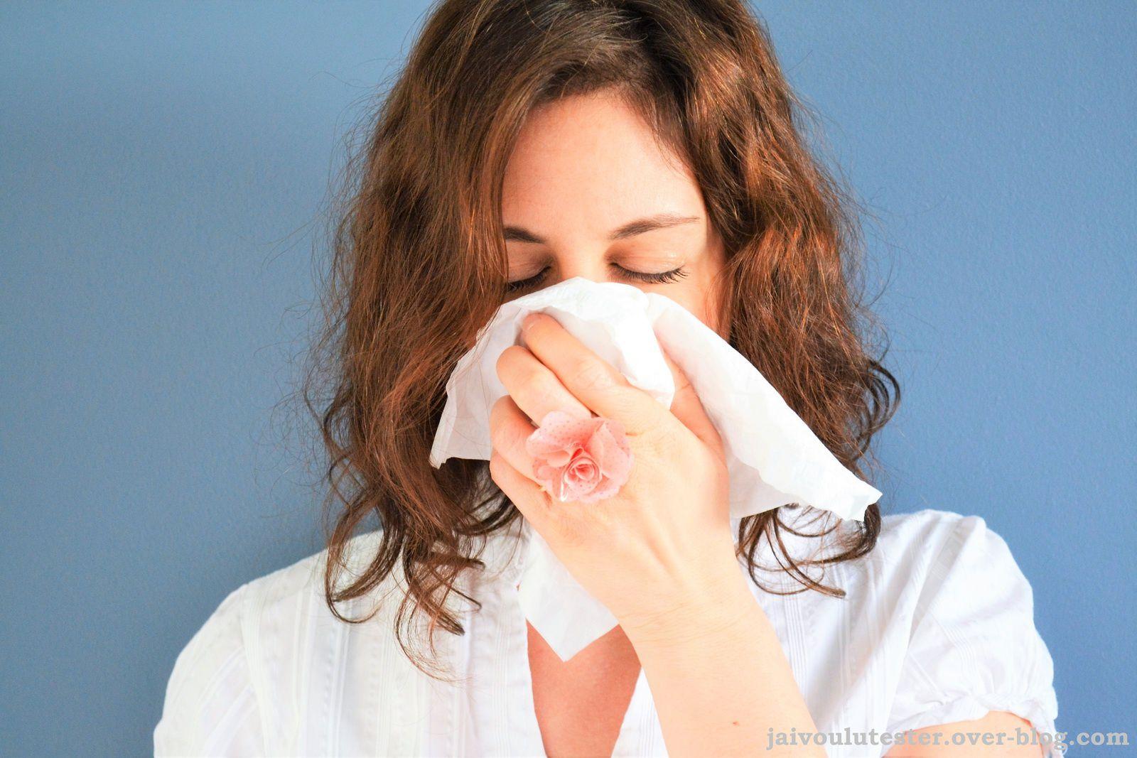 ... les allergies et moi, vive le printemps