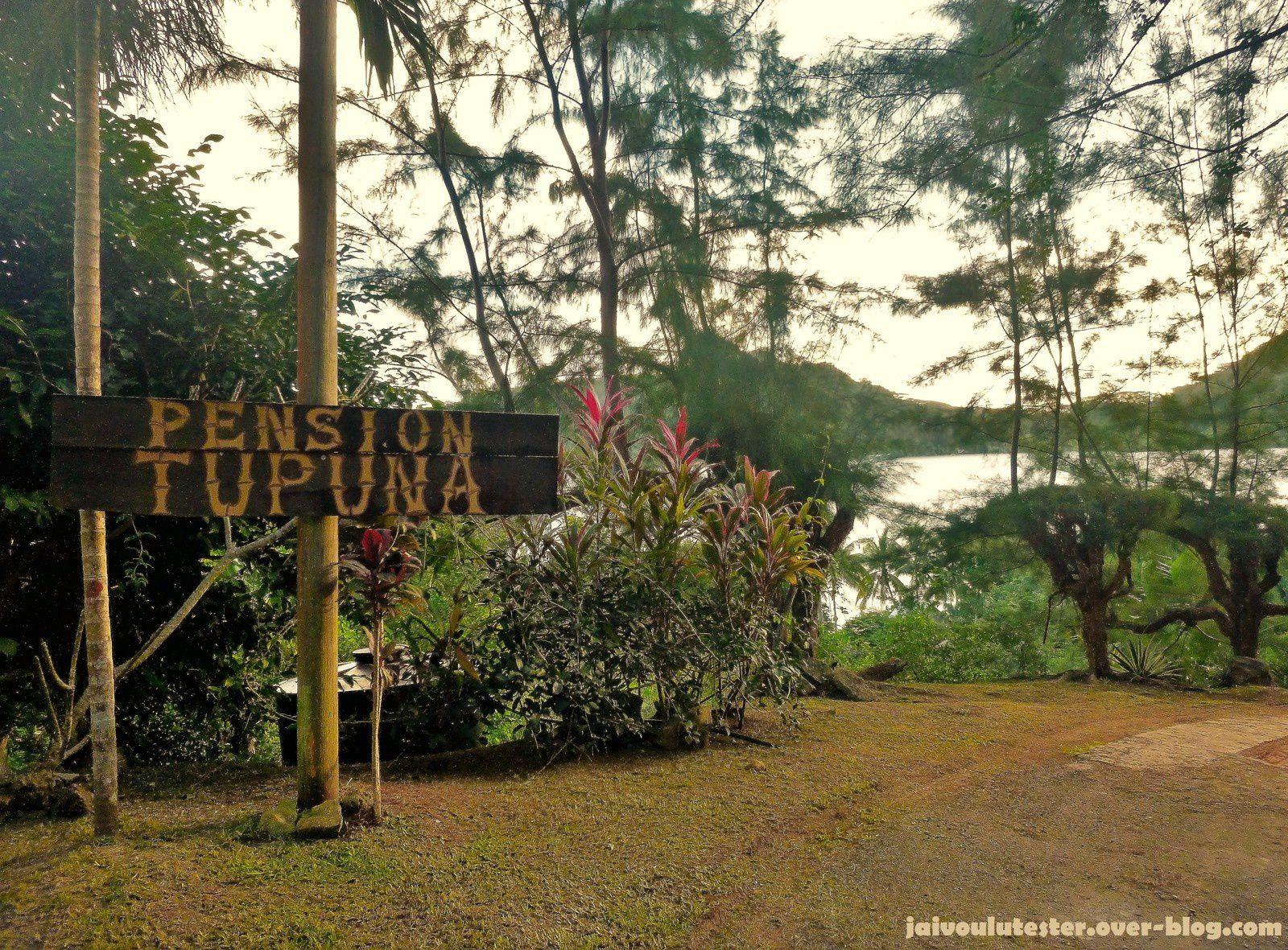 ... la Polynésie: où se loger: les pensions de famille (+ Pension Tupuna) #5