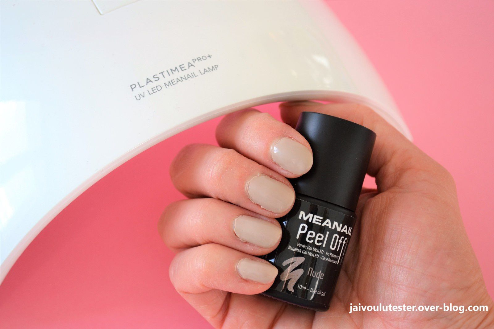 ... le vernis Meanail Peel Off, à ôter sans dissolvant? Crash test