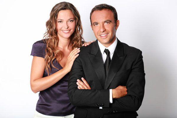 Sandrine Quétier et Nikos Aliagas (Crédit photo : Nils HD / TF1)