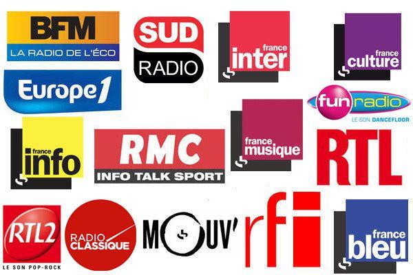 La liste des invités radio du vendredi 4 décembre 2015