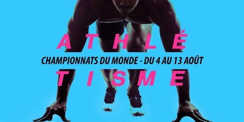 Succès des Championnats du monde d'athlétisme 2017 sur France Télévisions