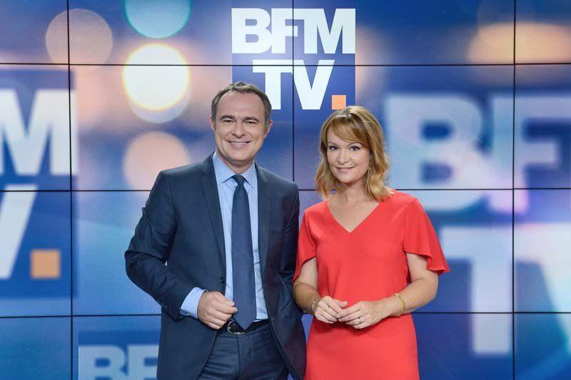 Christophe Delay et Adeline François (Crédit photo : A Marechal / ABACA PRESS pour BFMTV)