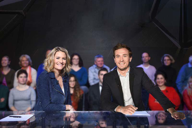 Astrid Bard et Jean-Baptiste Esculié (Crédit photo : Canal+ / DR)