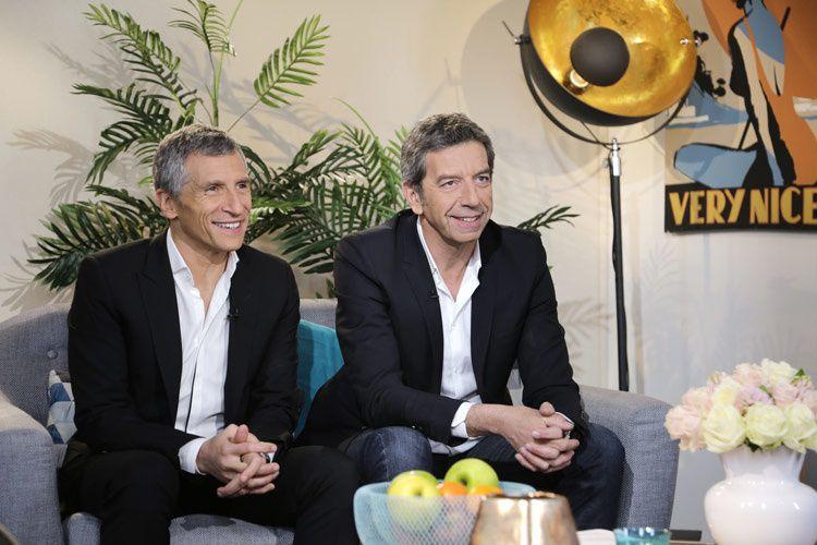 Nagui et Michel Cymès (Crédit photo : Gilles Gustine / FTV)