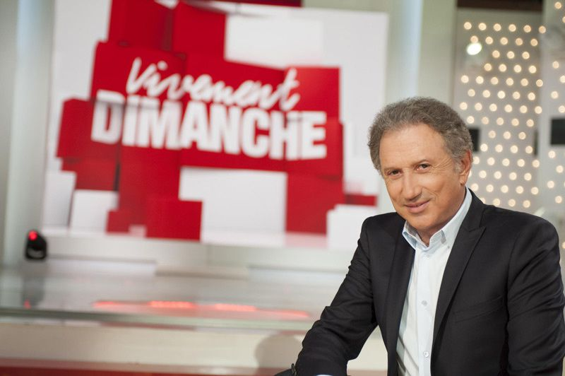 Michel Drucker (Crédit photo : Bernard Barbereau / France 2)