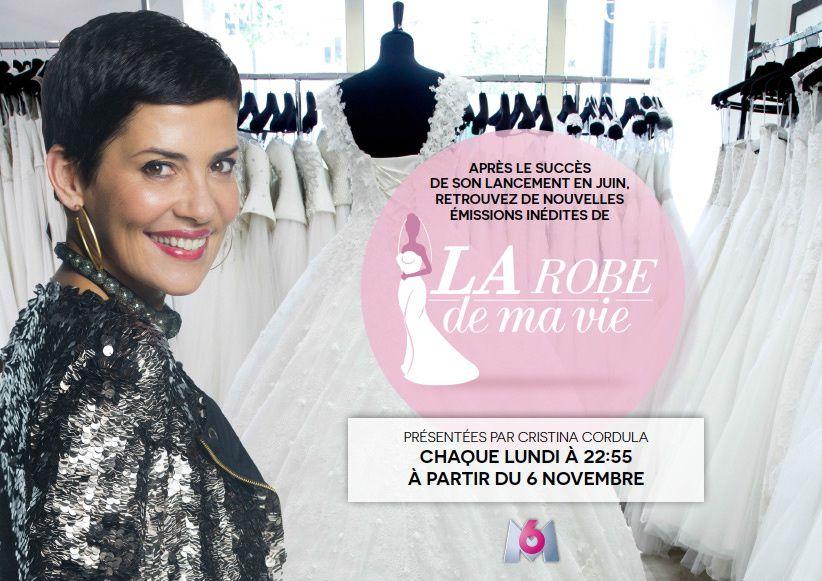 « La robe de ma vie » présenté par Cristina Cordula revient en novembre pour une saison 2 en deuxième partie de soirée sur M6