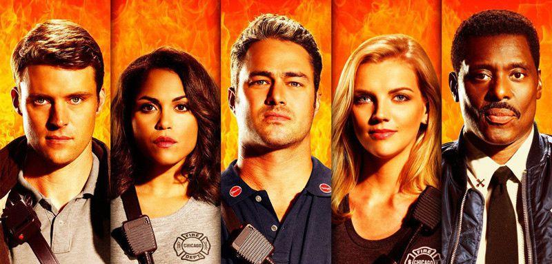 Coup d'envoi ce soir de la saison 5 de Chicago Fire diffusée sur CSTAR