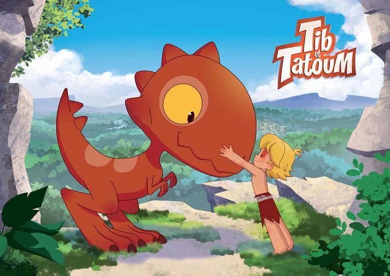 """""""Tib et Tatoum"""", nouvelle série animée dès le dimanche 25 mars sur TF1"""