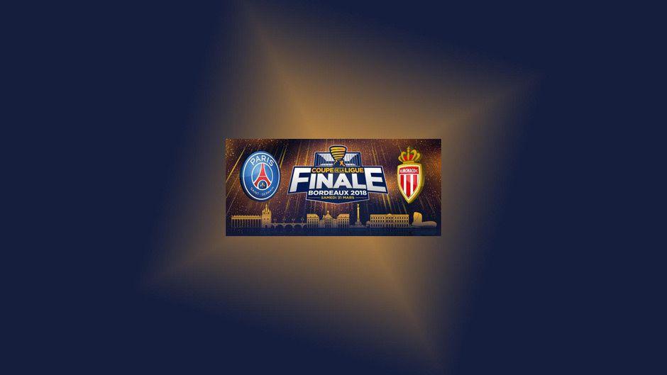 La finale de la Coupe de la Ligue PSG / Monaco à suivre en direct le 31 mar sur France 2