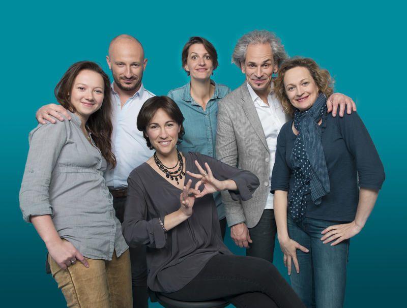L'équipe de L'oeil et la main (Crédit photo : Nathalie Guyon / FTV)