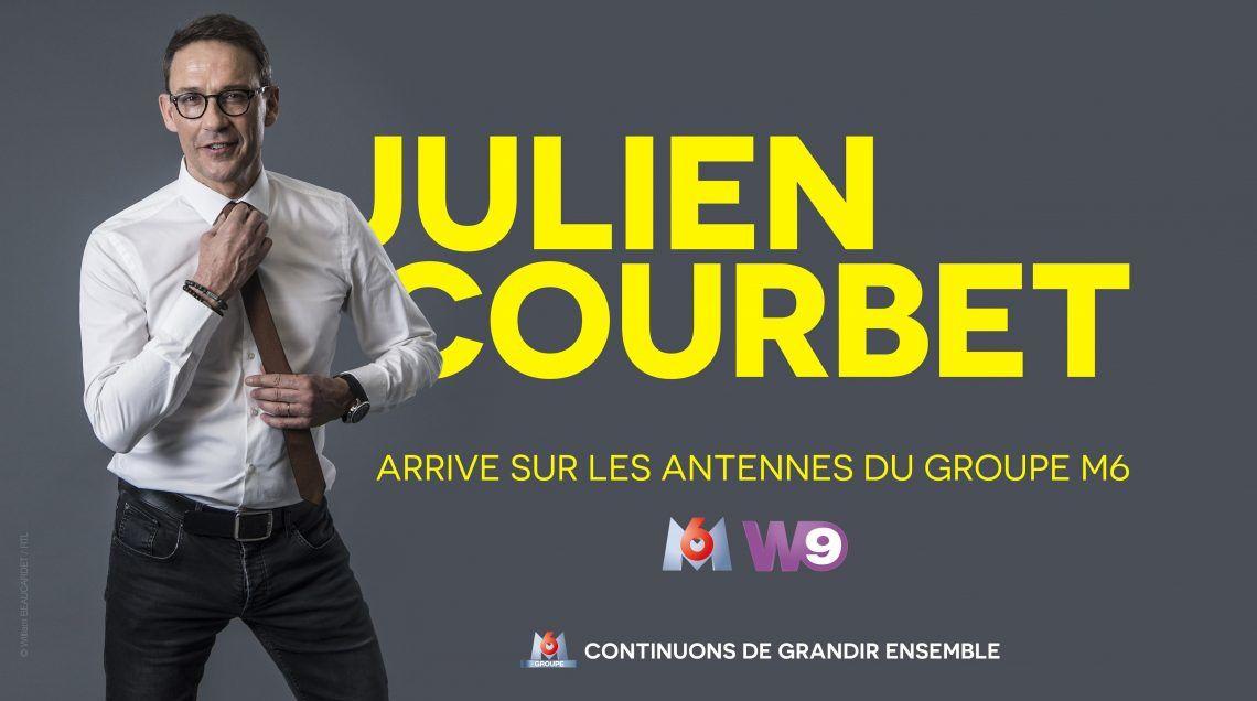 M6 officialise l'arrivée de Julien Courbet