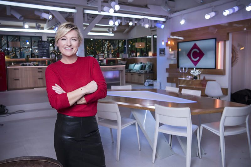 Anne-Elisabeth Lemoine (Crédit photo : Patrick Fouque / FTV)