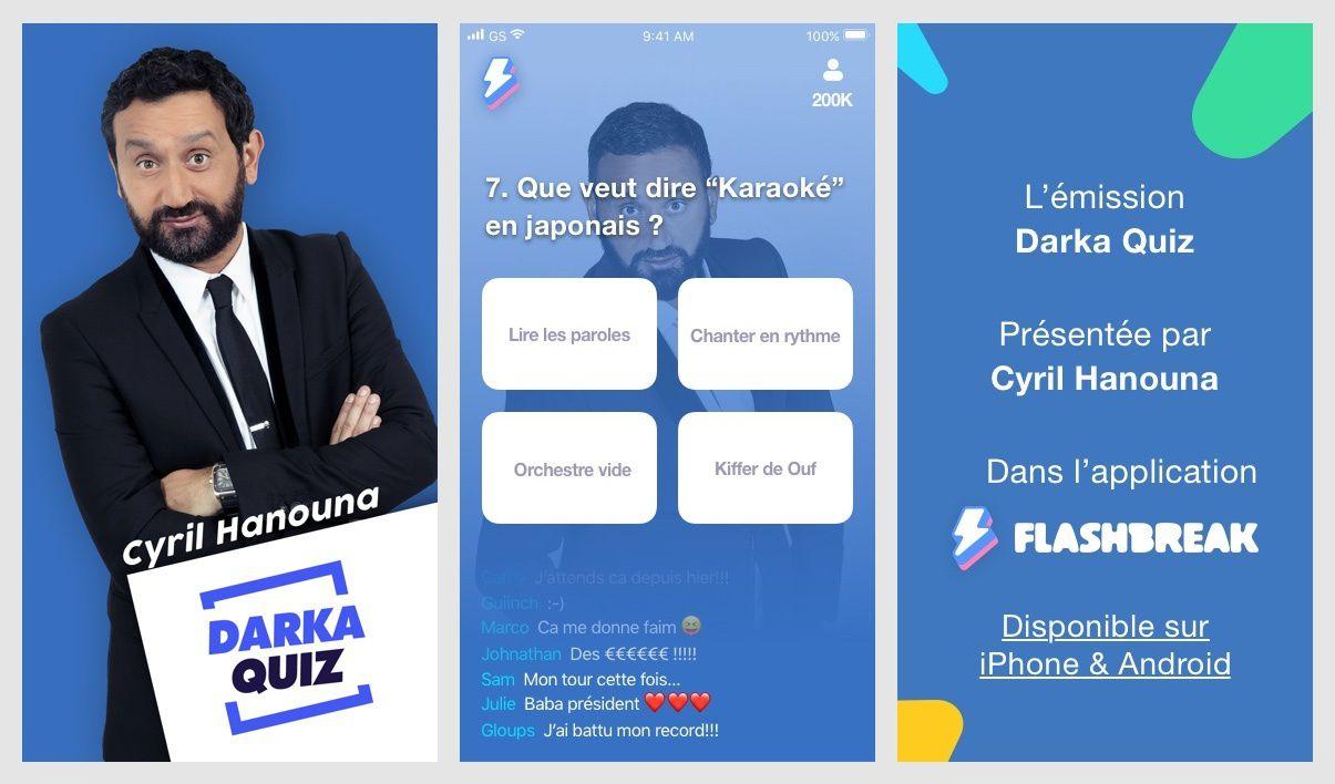 """Cyril Hanouna aux commandes dès ce soir du """"Darka Quiz"""" avec 1000 euros à se partager à la clé"""
