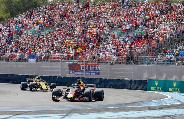 834000 mordus de F1 devant le Grand Prix de France sur CANAL+