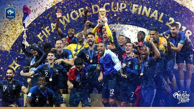 La finale de la Coupe du Monde France / Croatie offre une journée record à TF1