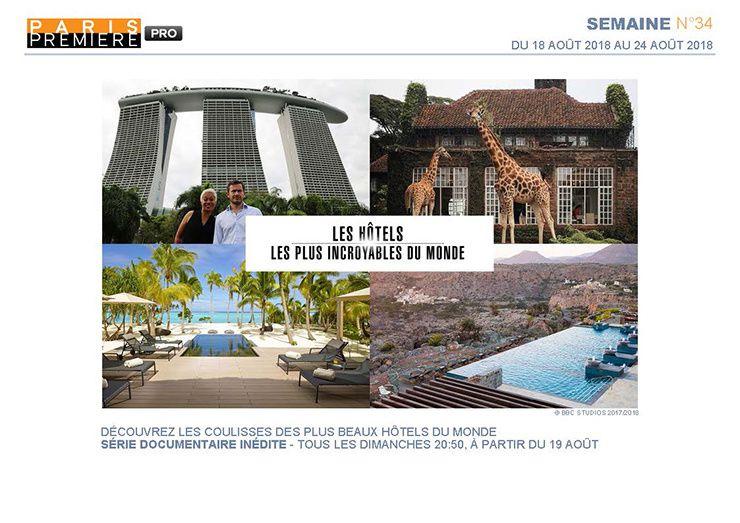 Les hôtels les plus incroyables du monde (Crédit photo : BBC)