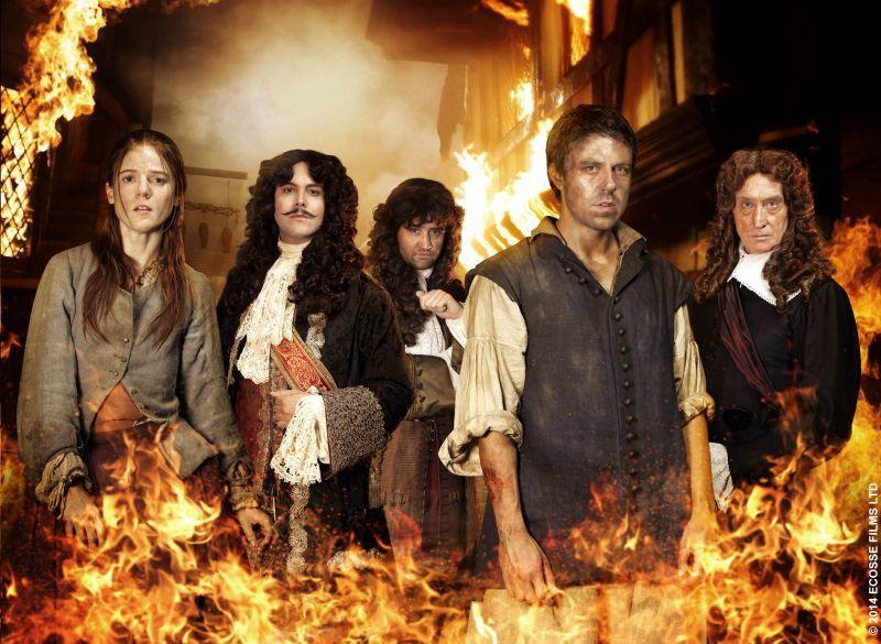"""""""1666, Londres en flammes"""", série inédite dès ce soir sur Histoire"""