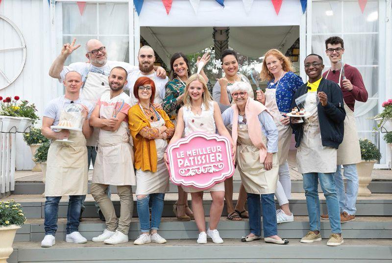 Les candidats de la saison 8 du Meilleur Pâtissier (Crédit photo : M6 / DR)