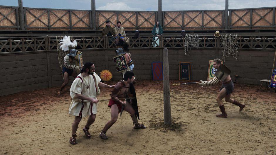 France 4 nous fera découvrir ce soir la vie au temps des gladiateurs