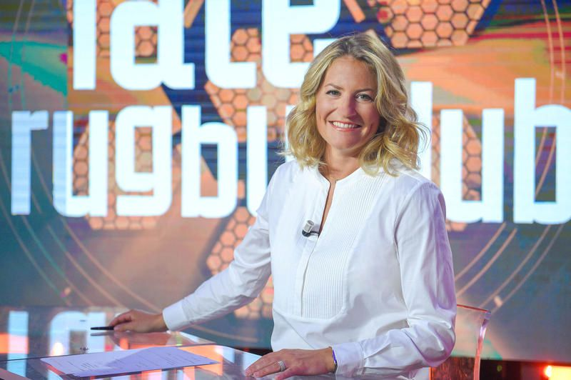 Astrid Bard (Crédit photo : Thierry Gromik / Canal+)