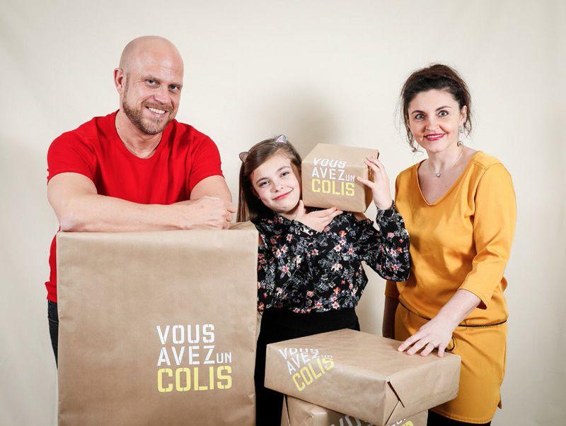 """Découvrez les 5 familles de """"Vous avez un colis"""", programme diffusé dès ce samedi sur M6"""
